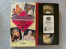 WCW SLAMBOREE 1993 VHS Turner Home Entertainment Wrestling Videotape