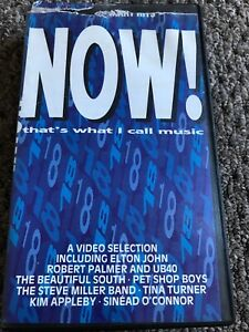 Now that's what I call Music 18 VHS VIDEO