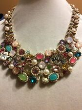 $195 Betsey Johnson Princess Charming Statement Necklace. BP-1