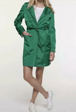 Trench & Coat By Lener Water repellent Rain 38 Uk 10 Bright Green Belted