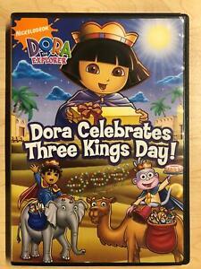 Dora the Explorer - Dora Celebrates Three Kings Day (DVD, 2008) - G0412