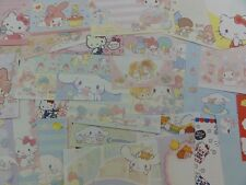 Sanrio Hello Kitty My Melody Little Twin Star Cinnamoroll note paper lot SALE