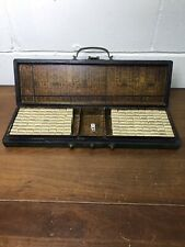 Vintage Mahjong Set w/ Box (144 pc.)