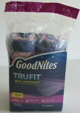 GoodNites TruFit Real Underwear Girls L-Xl Starter (Gm6)