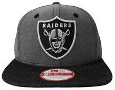 Oakland Raiders Gorra Nfl New Era Cap Denim Ox 9 Fifty Snapback Gorra Nuevo Tamaño S/M