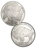 2015 - 1 oz Silver - American Buffalo Indian Head Round - Highland Mint