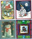 Handmade CHRISTMAS GIFT CARD/MONEY HOLDERS #C$-12--Lot of 4