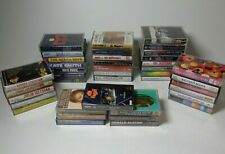 lot of 40 Mix Genre Music Cassette Tapes Pop R&B Rock and Many More