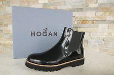 Hogan par Tods 36 bottines Bottines chaussure noire NERO NEUF