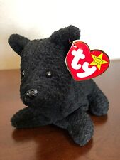 Beanie Babies Scottie the Terrier 1996 Retired with Tags, errors, and PVC Pellet