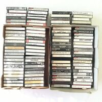 Lot 100 Cassette Tapes Pre-recorded Sold as Used Blanks -TDK Sony Mixed Vintage