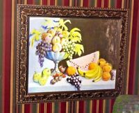 Rotting Fruit RARE Haunted Mansion Disneyland Concept Art Lenticular Changing