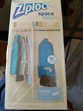 Ziploc Space Bag Hanging bags
