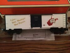 Lionel 29907 I Love West Virginia State Box Car New in Box!