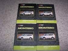 2002 Mitsubishi Montero Shop Service Repair Manual XLS Limited 3.5L V6
