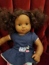 AMERICAN GIRL Bitty Baby Twin African Curly Black Hair Girl Toddler Doll
