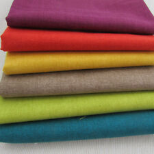 Linen texture Makower 100% cotton quilting fabric 6 fqt bundle AUTUMN GLOW