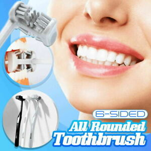 6 Sided All Rounded Toothbrush - New