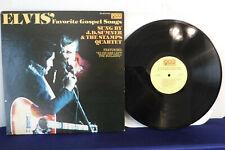 J.D. Sumner & The Stamps Quartet, Elvis' Favorite Gospel Songs, QCA 362, 1977