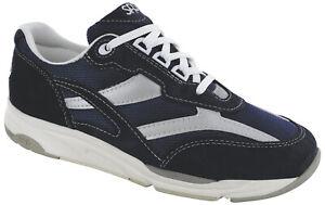 SAS Tour Mesh Blue 9.5 Wide Women's Walking Shoes