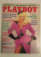 Vintage Playboy Magazine December 1984 Gala Christmas Issue Paul Linda McCartney