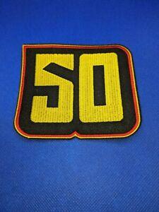 Vancouver Canucks 50th Anniversary Jersey Patch Alternate Jersey