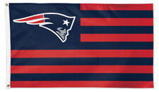 New England Patriots AMERICAN FLAG-STYLE Huge 3x5 DELUXE-EDITION FLAG