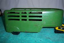 """Wyandotte Express Toys Trailer 1940's Pressed Steel Toy 12 """" Long"""