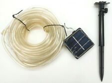 Oak Leaf Outdoor String Lights 41ft 100LED Outdoor Solar Rope Wire Lighting