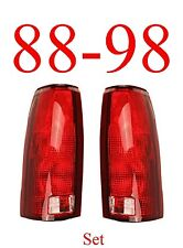 88 98 Chevy Tail Light Set, Assembly, Truck, GMC, Suburban, Tahoe, NIB GM2800125