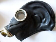 RUBBER GAS MASK GP-5 Russian Black  Military only, size 0, new