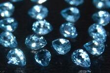 Beautiful Pair of Approx.3mm 0.16ct Pear Cut Sky Blue Topaz Gemstone