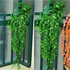 8.2feet Green Artificial Hanging Ivy Leave Garland Plants Vine Foliage Home