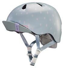 Bern Nina Cycling Helmet (Satin Seaglass Polka Dot / Junior / S-M Size)