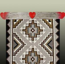 "Quilt Hangers, ""Fleeting Heart"", Holds a 29"" inch Quilt or Rug. One of a Kind!"