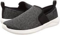 Men Crocs LiteRide Slip On Shoes 205170-066 Black White 100% Authentic Brand New