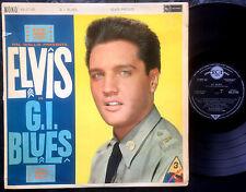 ELVIS PRESLEY - G.I. BLUES Ultrarare 1960 UK MONO LP Release!