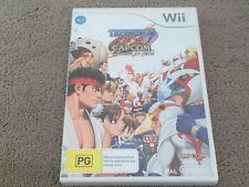 Nintendo Wii Game - Tatsunoko Vs Capcom, Ultimate All Stars - PAL Street Fighter