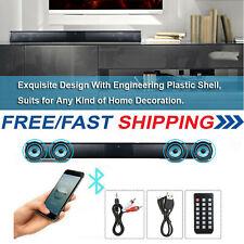 Bluetooth Wireless TV Soundbar 4 Speaker 3D Sound Bar Theater Subwoofer B1I4
