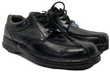 Mens Nunn Bush Black Laceup Leather Dress Shoes 10.5 W.