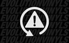DSC OFF Sticker Decal Vinyl euro audi vw  Auto-x AWD