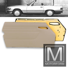 1 Paar Mercedes SL W107 R107 Türverkleidungen Türpappen creme beige door panel