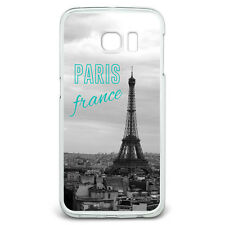 Paris France Eiffel Tower Slim Fit Case Fits Samsung Galaxy S6 Edge
