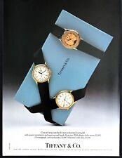 1987 Concord Strap Watch Moonphase Chronograph Mariner photo Tiffanys print ad