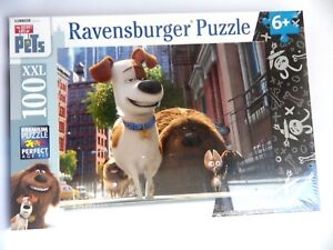 Jigsaw Puzzle Ravensburger The Secret Life Of Pets Perfect Age 100 Parts XXL New