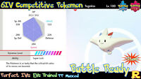 6IV COMPETITIVE TOGEKISS ⚔️ SHINY / ULTRA or NOT (+ITEM!) 🛡 SWORD & SHIELD