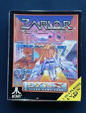 ZARLOR MERCENARY   Lynx Atari SEALED NEW COMPLETE !!