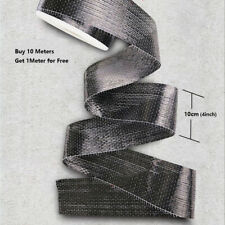 12K 200gsm Real Carbon Fiber Fabric Unidirectional Carbon Fibre Cloth 10cm x 1m