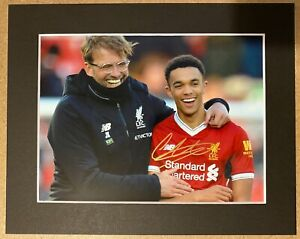 Trent Alexander-Arnold - Liverpool - LFC - Signed Photo - Mounted Trent