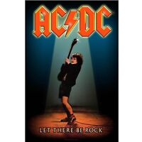 AC/DC Let There Be Rock Poster Flag Official Fabric Premium Textile ACDC AC-DC